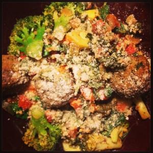 Veggie Patch Falafel with Couscous
