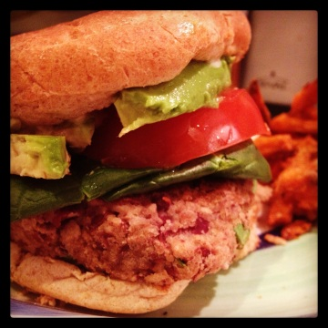 Asian Bean Vegan Burgers