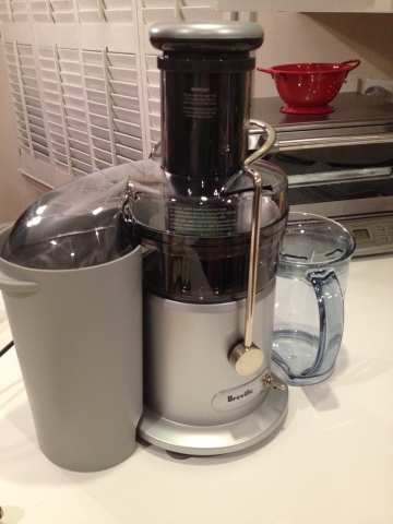 Our New Breville Juicer