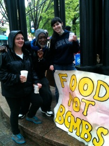 Food Not Bombs Picture courtesy of Favor Freedom