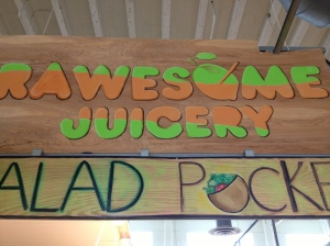 Rawesome Juicery in Sweet Auburn Market
