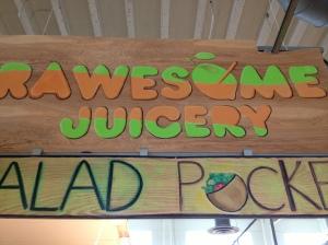 Rawesome Juicery in Sweet Auburn Market