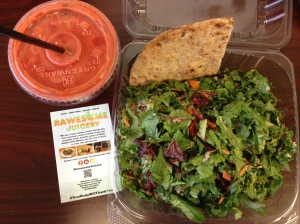 Lunch and Juice from Rawesome Juicery