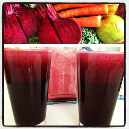 Juicing Collage