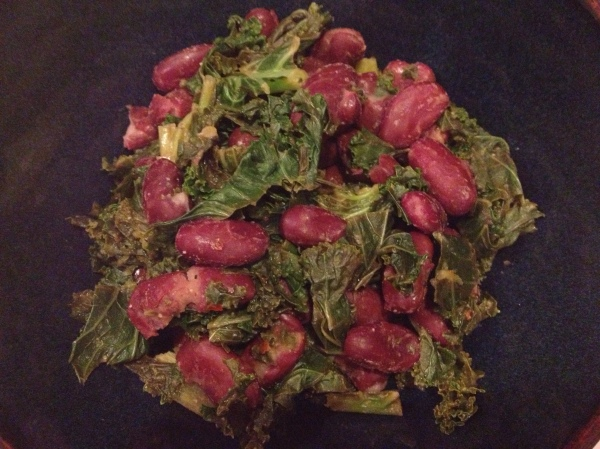 Kale and Kidney Bean Salad