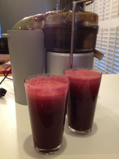 Breakfast Beet & Pear Juice