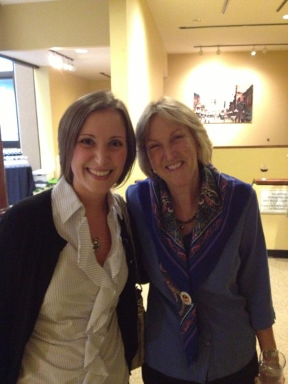 Me and Ingrid Newkirk