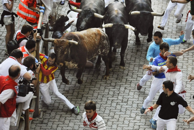 Photo courtesy of Huffington Post: http://www.huffingtonpost.com/2013/07/14/australian-woman-gored-running-of-the-bulls-spain_n_3594354.html