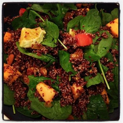Quinoa & Fruit Salad