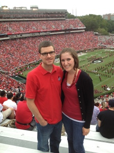 At the Georgia game