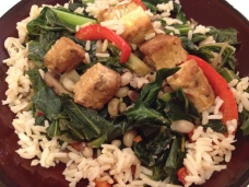 Tempeh & Collard Greens