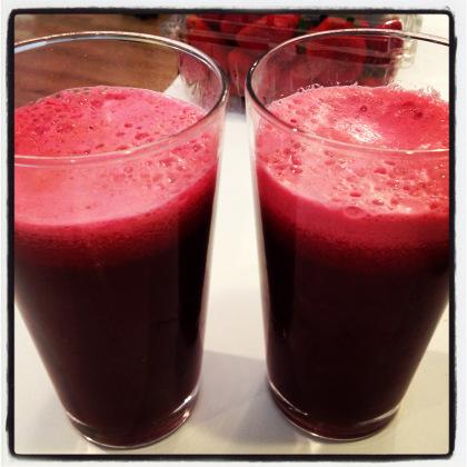 sweet beet juice