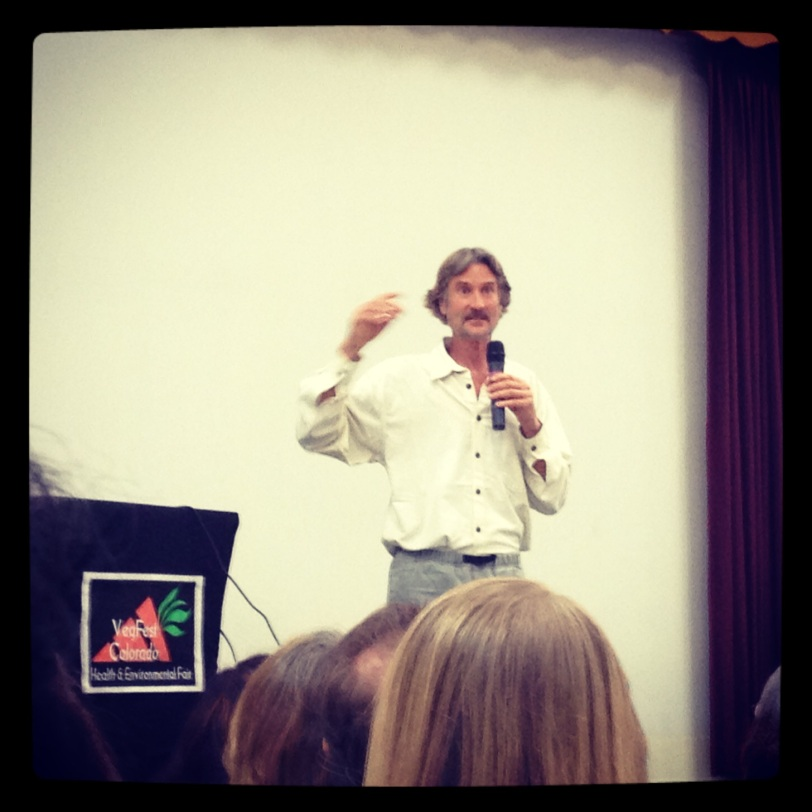 Dr. Will Tuttle at VegFest