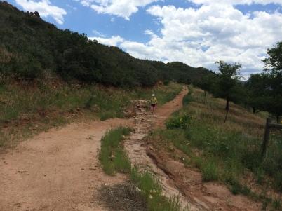 Running at Red Rocks
