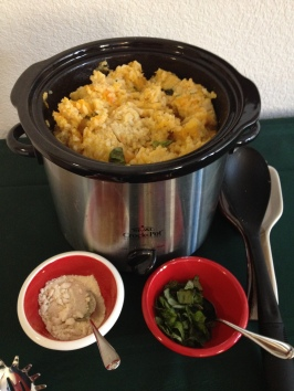 Crock Pot Butternut Squash Risotto