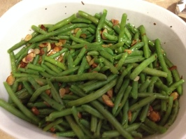 Green Beans and Almonds