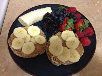 Pre-race breakfast