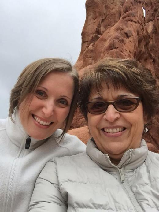 Me and my mom at Garden of the Gods