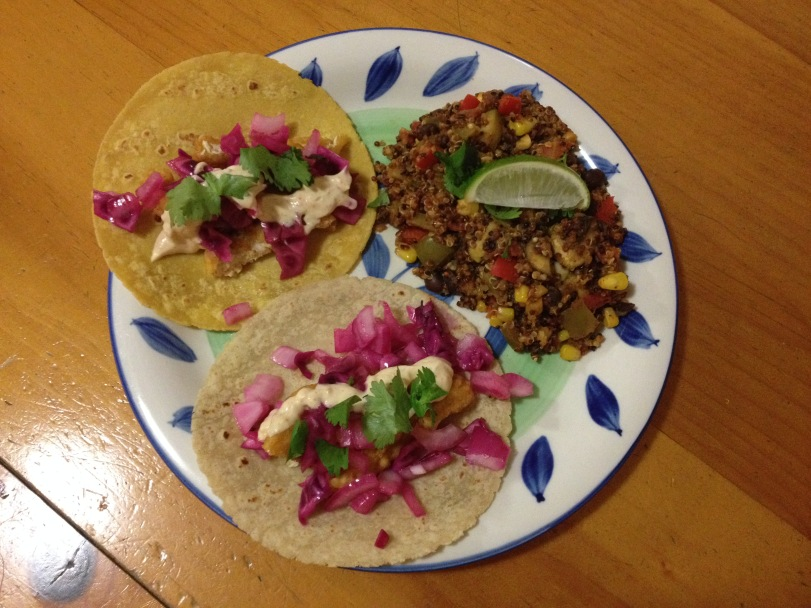 Vegan Fish Tacos