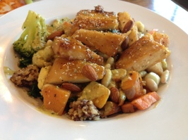 Bombay Bowl with Glazed Tofu at Veggie Grill in Thousand Oaks