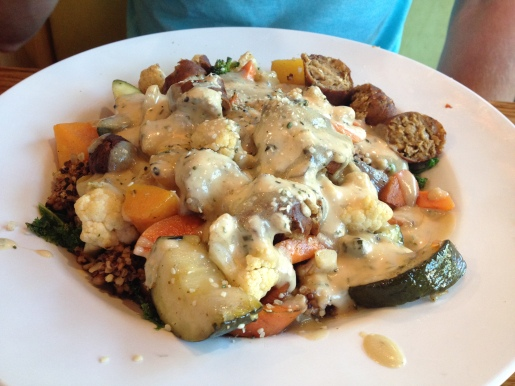 Harvest Bowl at Veggie Grill in Thousand Oaks