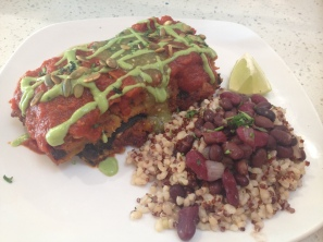 Enchiladas at Joi Cafe in Thousand Oaks